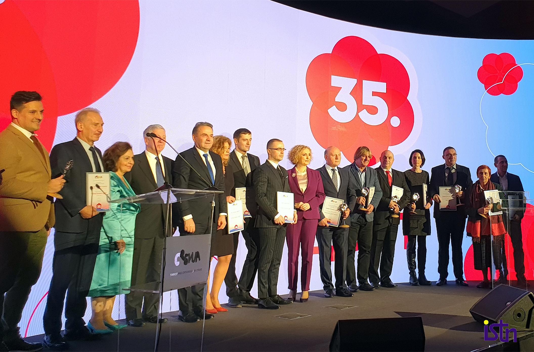35. dodela priznanja TURISTICKI CVET 2019, ISTN