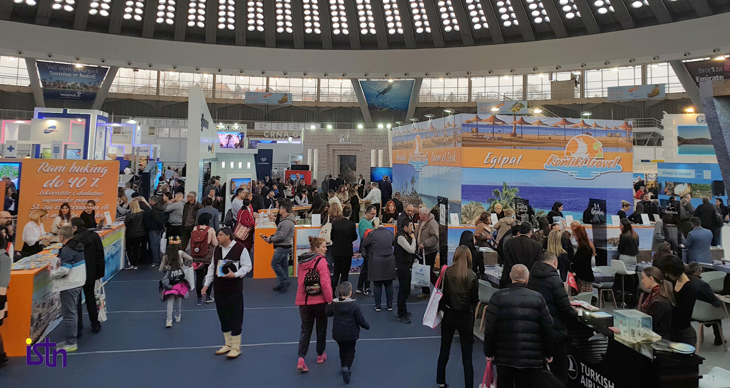 Sajam turizma IFT 2020, izlagaci, ISTN