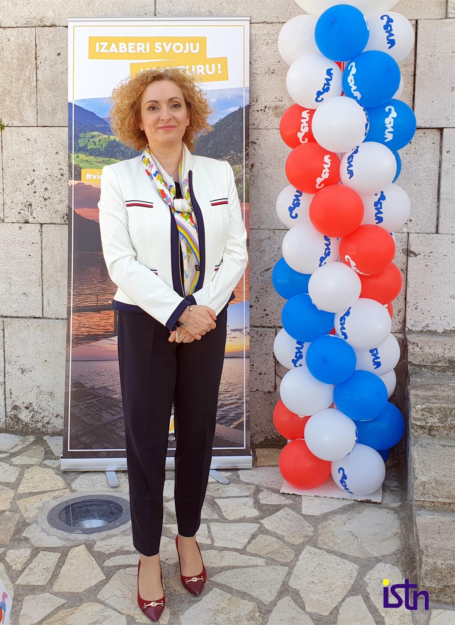 Marija Labovic, direktorka TOS, ISTN