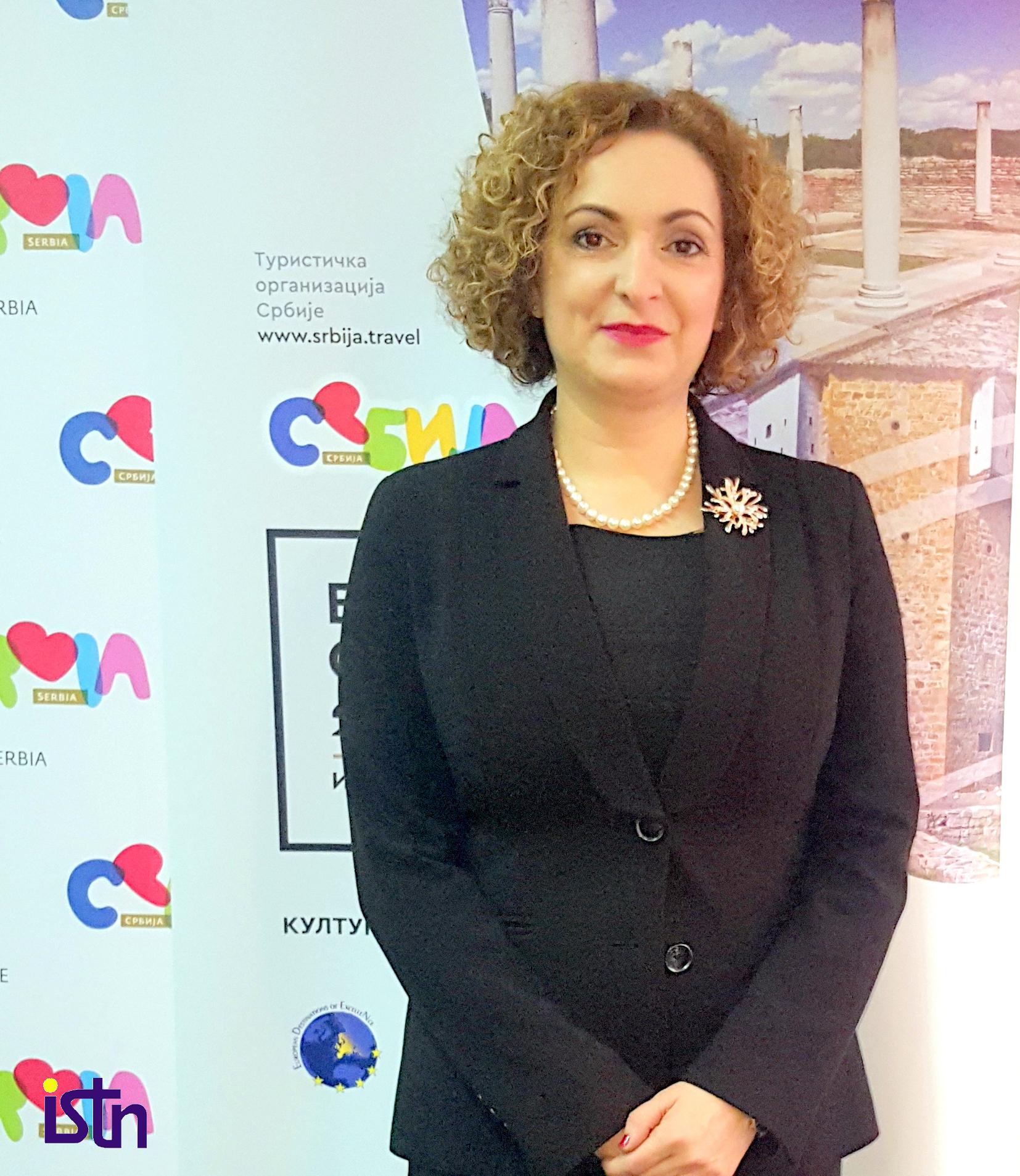 Marija labovic, direktorka Turisticke organizacije Srbije, ISTN