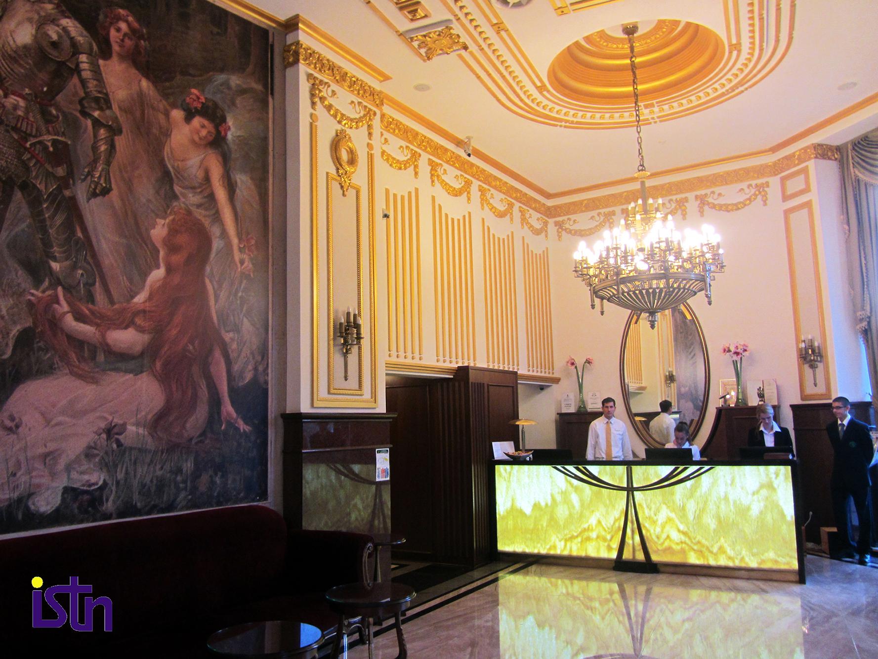Hotel Moskva Beograd, recepcija, ISTN