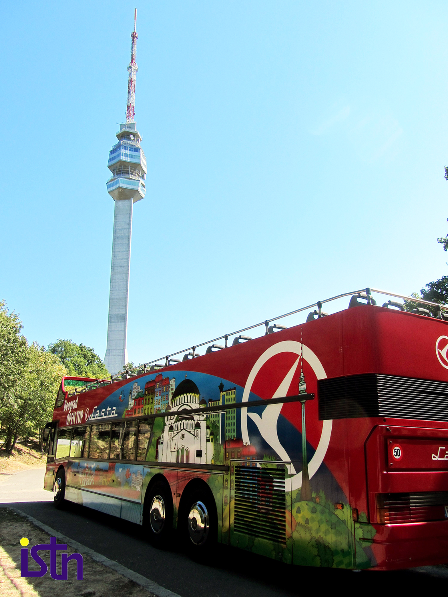 Turisticki autobus na Avali, ISTN
