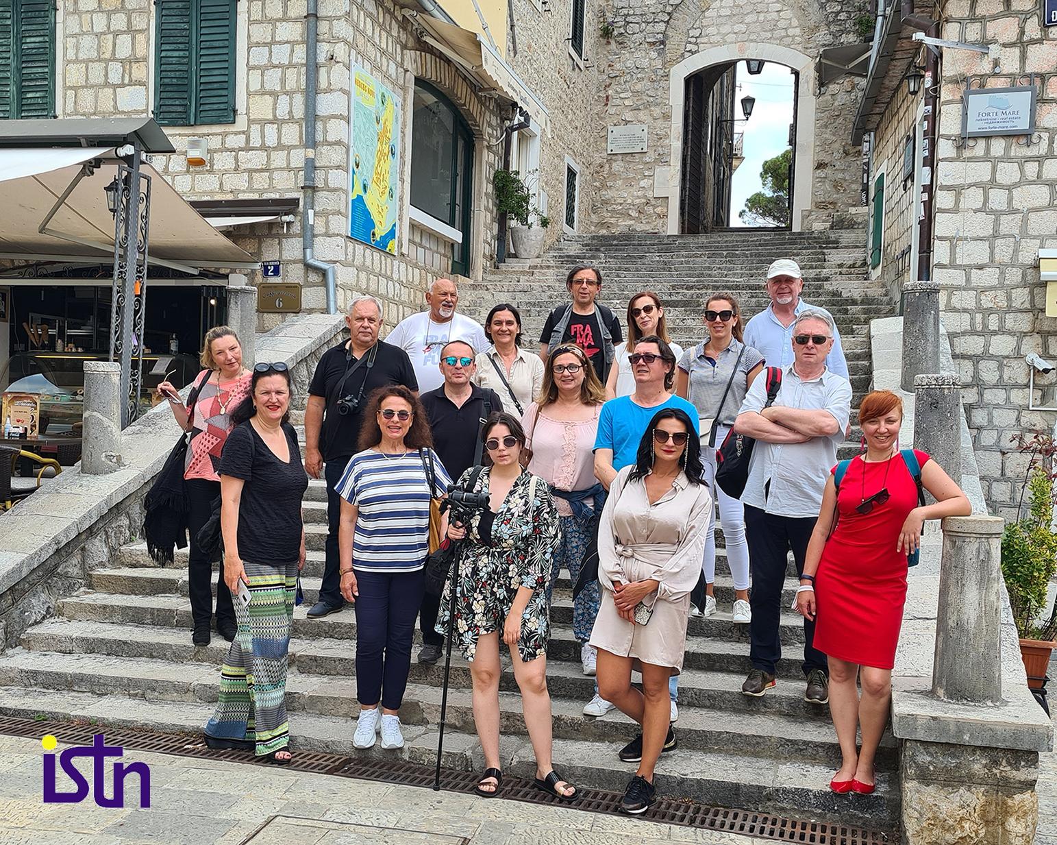 Turisticki novinari Regiona u Herceg Novom, ISTN