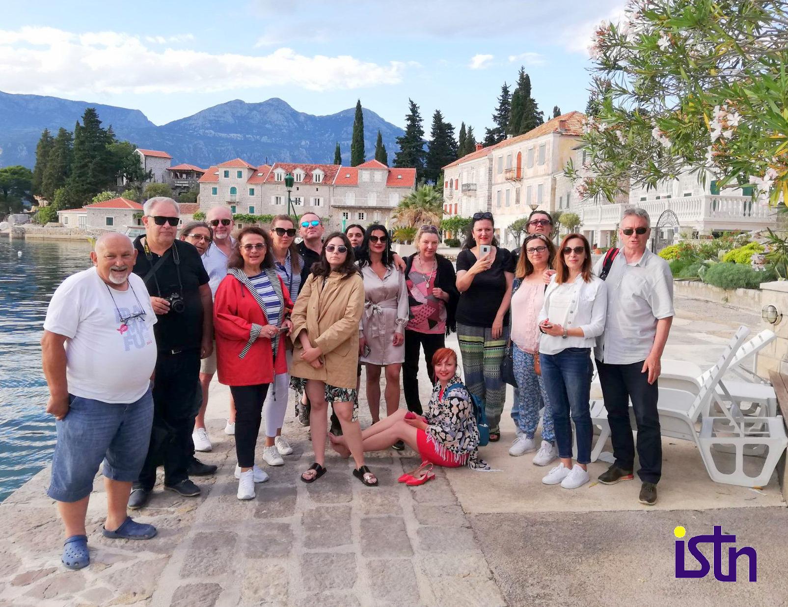 Turisticki novinari Regiona u Herceg Novom, na Rosama, ISTN