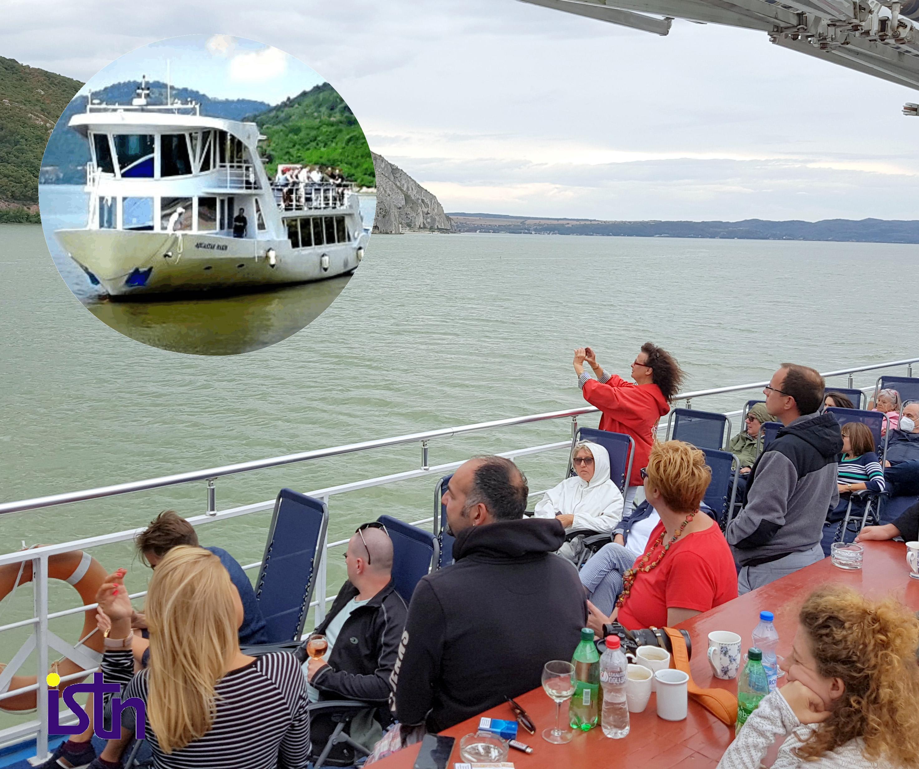 Plovidba Dunavom kroz istoriju, Golubacka tvrdjava, ISTN