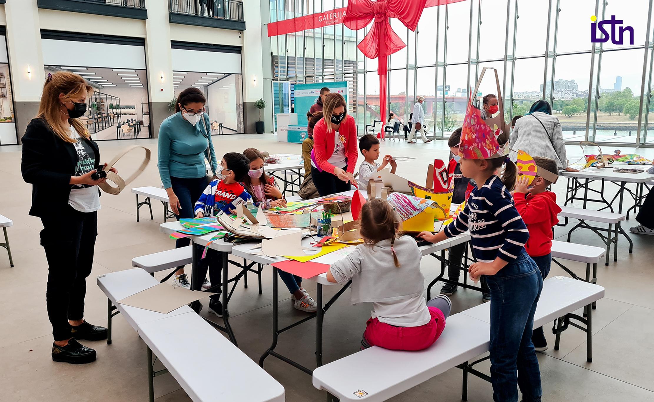 karneval bdorova 2021, deciji kutak, ISTN